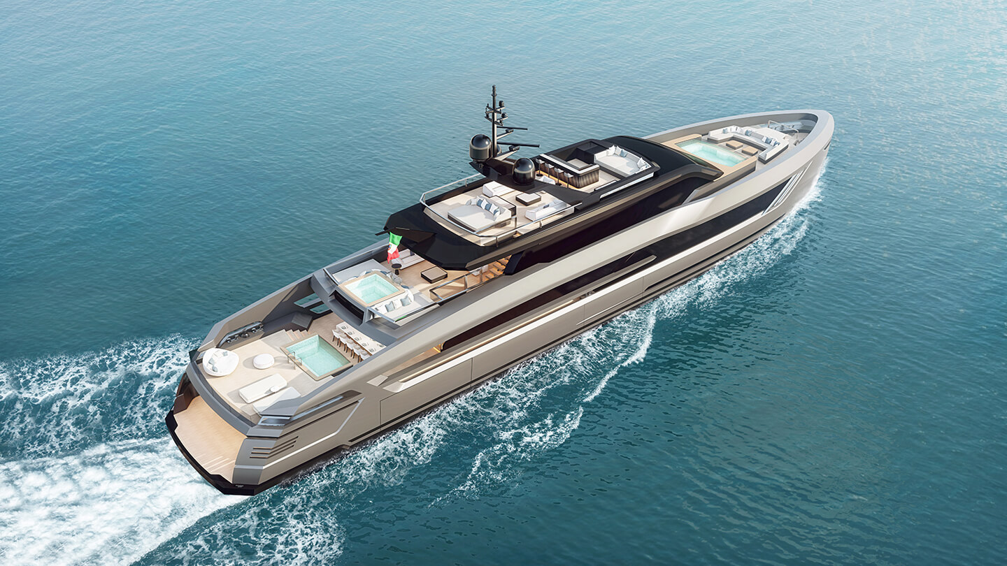 Super Yacht made in Italy